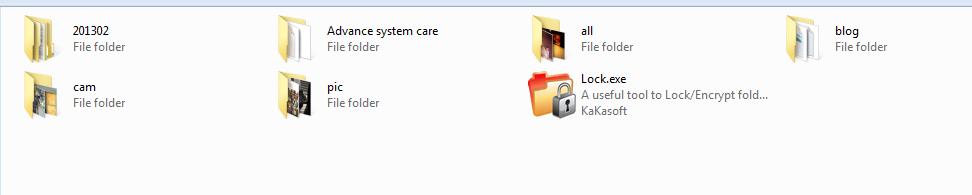 Free folder locker software download
