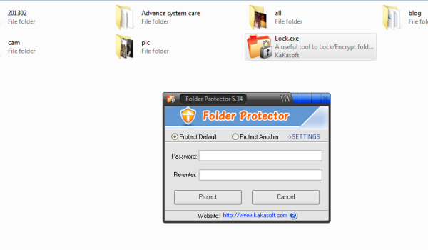 Free folder locker software download